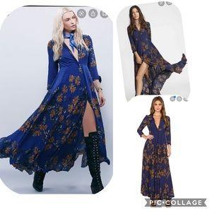 Free people maxi floor length dress